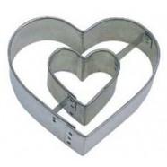 Pepparkaksform Hjärta i hjärta