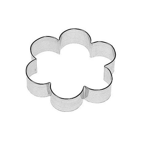 Pepparkaksform Blomma rund