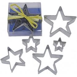 Pepparkaksformar Stjärnor