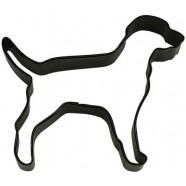 Pepparkaksform Hund Labrador Svart