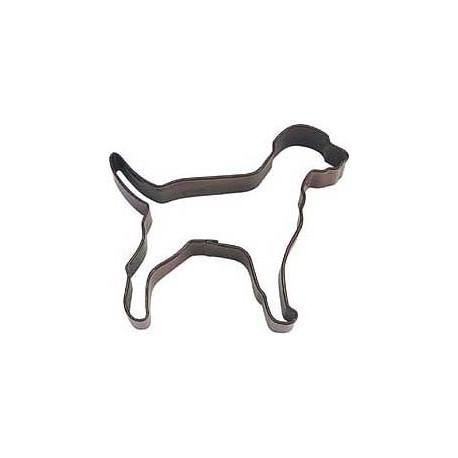 Pepparkaksform Hund Labrador Brun