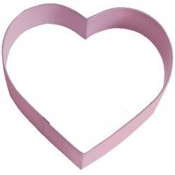 Pepparkaksform Hjärta rosa