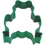 Pepparkaksform Groda grön