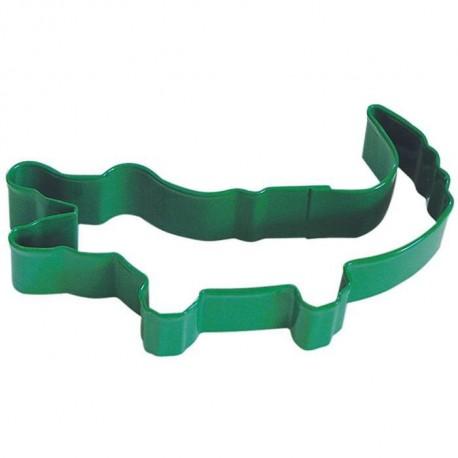 Pepparkaksform Alligator grön