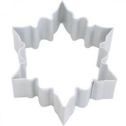 Pepparkaksform Snöflinga mellan vit