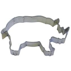 Pepparkaksform Noshörning