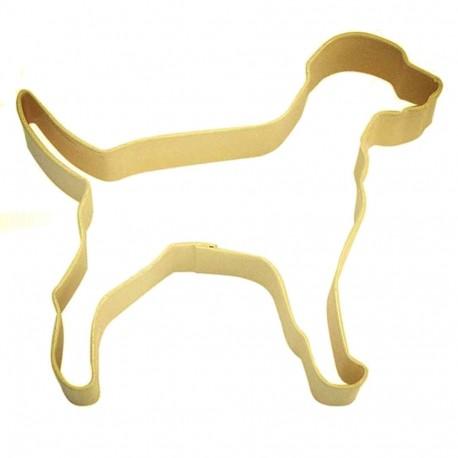 Pepparkaksform Hund Labrador gul