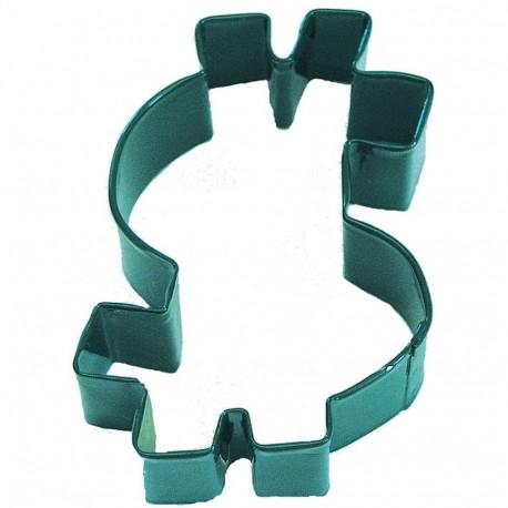 Pepparkaksform Dollartecken grön