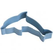 Pepparkaksform Delfin blå
