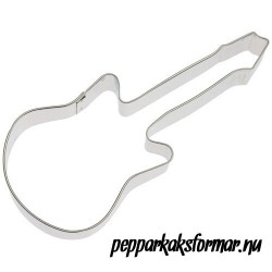 Pepparkaksform Elgitarr