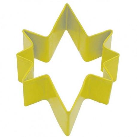 Pepparkaksform Julstjärnan gul
