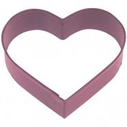 Pepparkaksform Hjärta röd