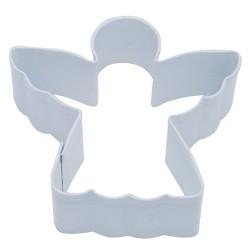 Pepparkaksform Ängel vit