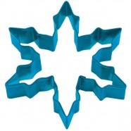 Pepparkaksform Snöflinga spets stor marinblå