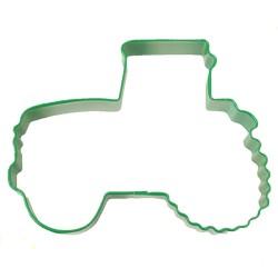 Pepparkaksform Traktor grön