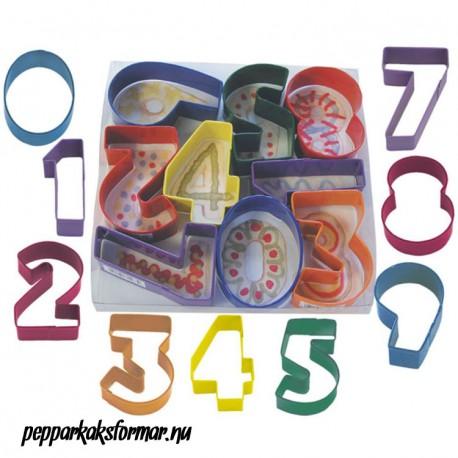 pepparkaksform siffror