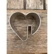 Pepparkaksform Hjärta att hänga